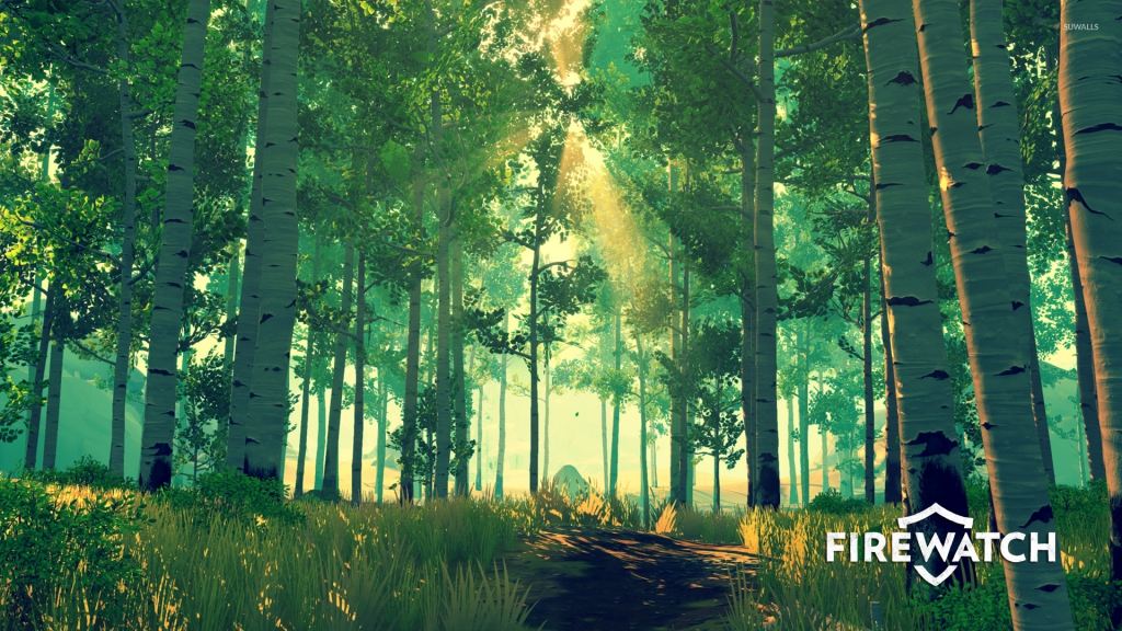 sun-rays-in-the-green-forest-in-firewatch-51056-1920x1080